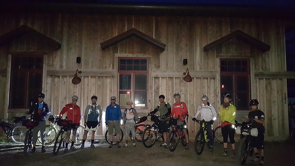 2015 Black Hills Expedition group start