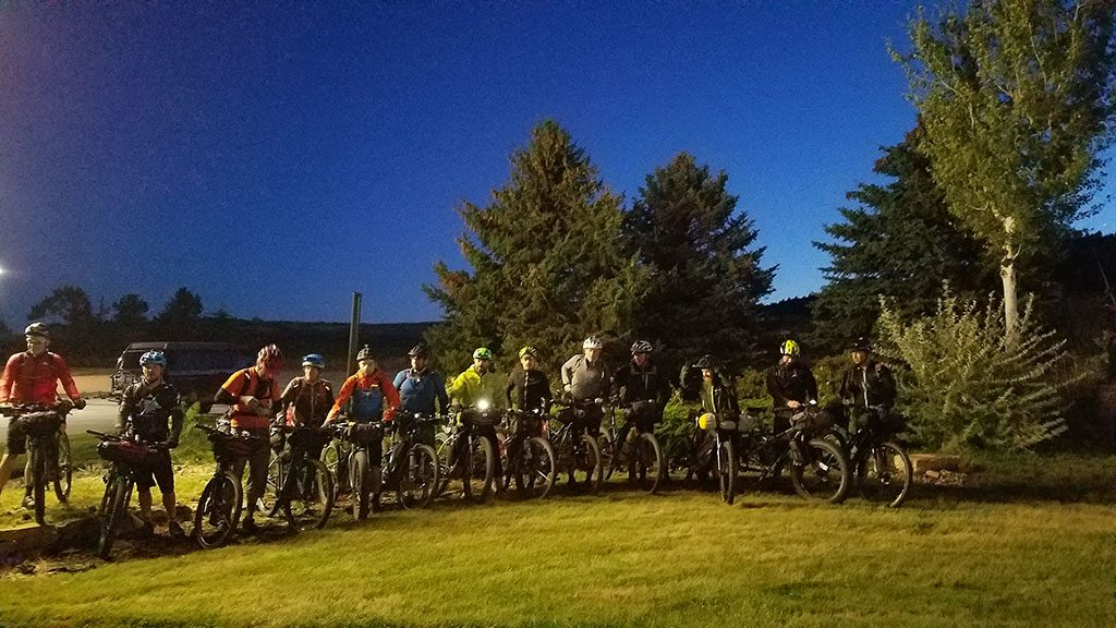 2017 Black Hills Expedition group start